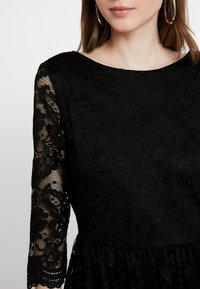 Vero Moda - VMALVIA SHORT DRESS - Vestito elegante - black - 4