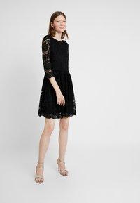 Vero Moda - VMALVIA SHORT DRESS - Vestito elegante - black - 1
