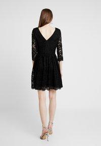 Vero Moda - VMALVIA SHORT DRESS - Vestito elegante - black - 2