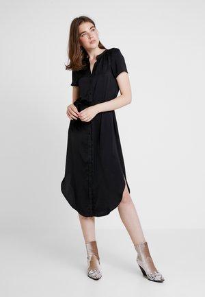VMALBA BELT DRESS - Skjortklänning - black