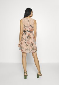Vero Moda - VMSUNILLA SHORT DRESS - Day dress - mahogany rose - 3