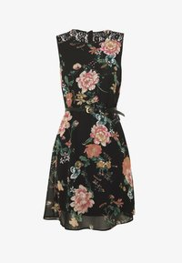 Vero Moda - VMSUNILLA SHORT DRESS - Denní šaty - black - 5