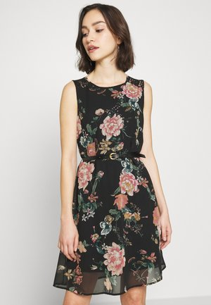 VMSUNILLA SHORT DRESS - Day dress - black