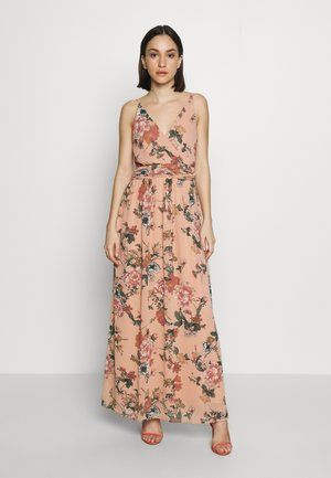 VMSUNILLA DRESS - Maxi-jurk - mahogany