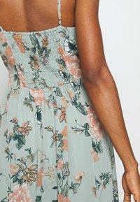 Vero Moda - VMSUNILLA DRESS - Maxi dress - chinois green - 4