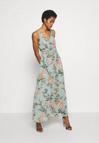 Vero Moda - VMSUNILLA DRESS - Maxi dress - chinois green - 0
