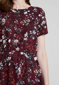 Vero Moda - AUTUMN AMAZE SHORT DRESS - Denní šaty - port royale - 5