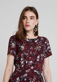 Vero Moda - AUTUMN AMAZE SHORT DRESS - Denní šaty - port royale - 3