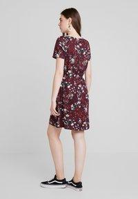 Vero Moda - AUTUMN AMAZE SHORT DRESS - Denní šaty - port royale - 2
