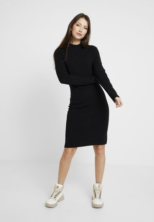VMFANCY NANCY HIGHNECK DRESS - Shift dress - black