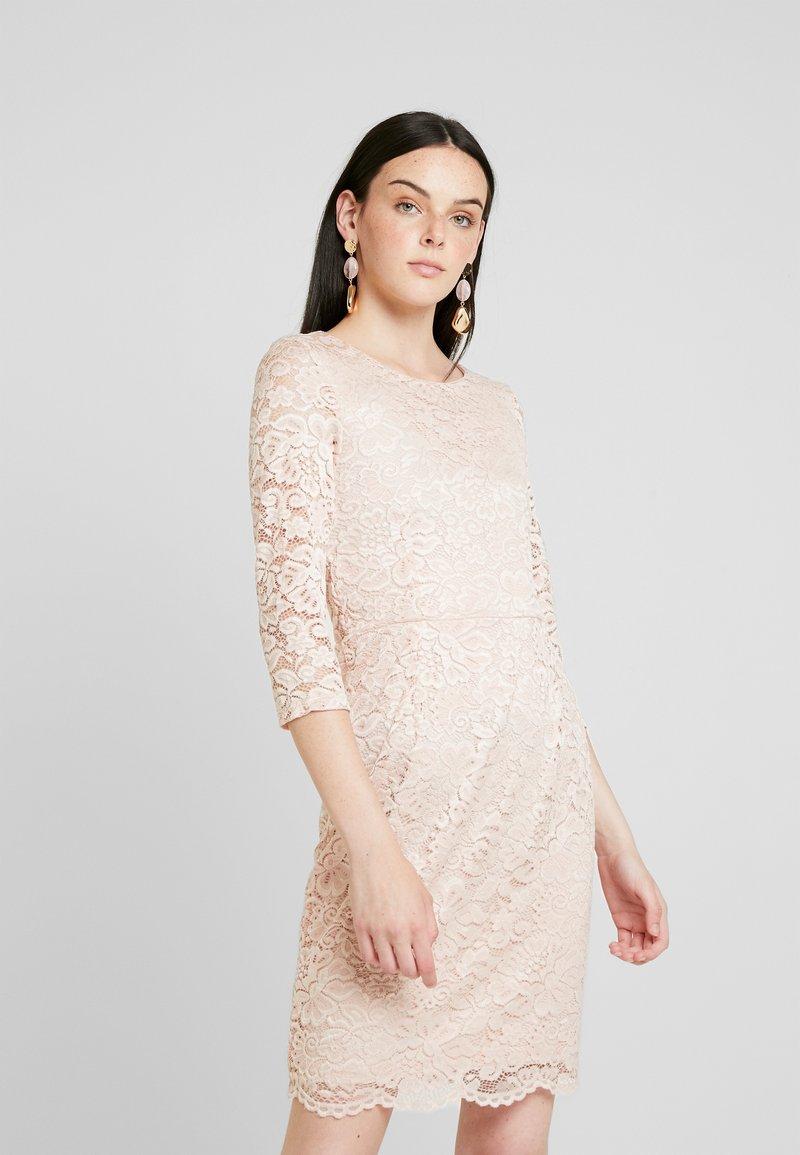 Vero Moda - STELLA DRESS COLOR - Shift dress - sepia rose