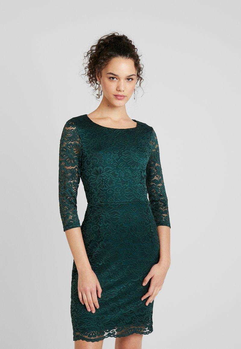Vero Moda - STELLA DRESS COLOR - Shift dress - ponderosa pine