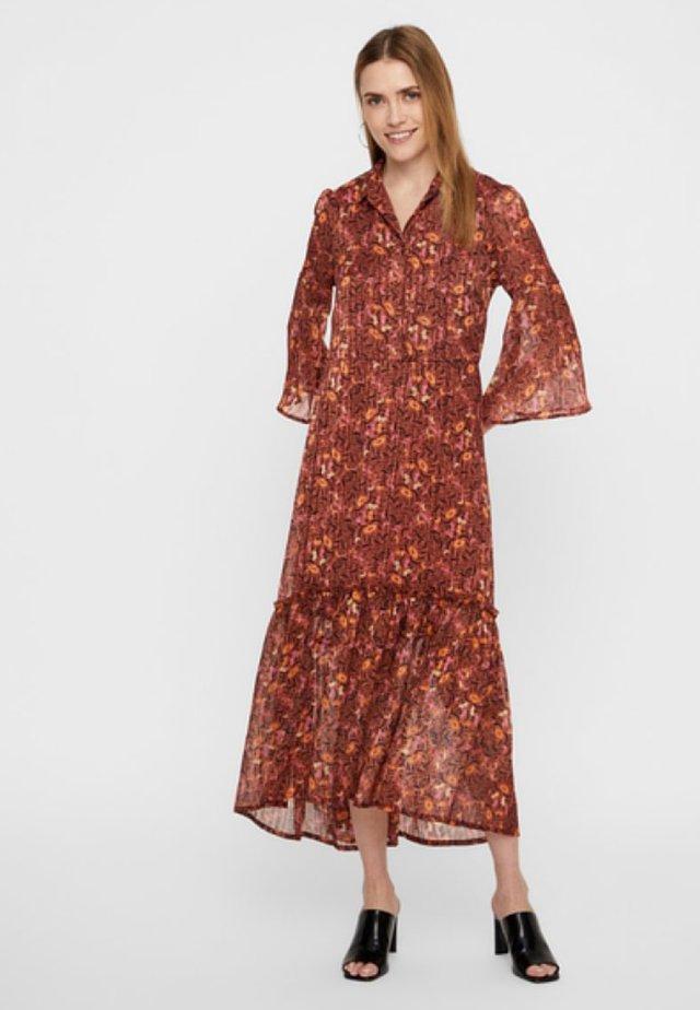 Maxiklänning - mahogany