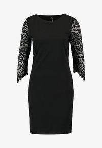 Vero Moda - VMCLARA 3/4 SHORT DRESS - Etuikleid - black - 5