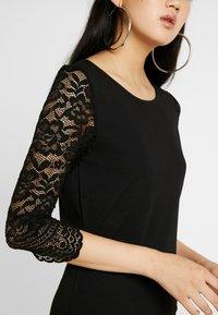 Vero Moda - VMCLARA 3/4 SHORT DRESS - Etuikleid - black - 6