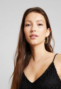 Vero Moda - VMMADELEINE CALF DRESS - Denní šaty - black - 4