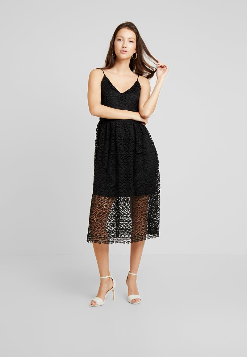Vero Moda - VMMADELEINE CALF DRESS - Denní šaty - black