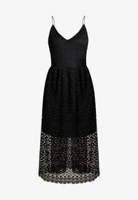 Vero Moda - VMMADELEINE CALF DRESS - Denní šaty - black - 5