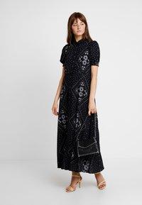 Vero Moda - VMNICE ANCLE DRESS - Maxi šaty - black - 2
