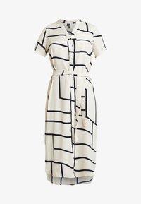Vero Moda - VMDALION SLIT DRESS  - Skjortklänning - oyster grey - 5