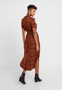 Vero Moda - VMDALION SLIT DRESS  - Skjortklänning - tortoise shell - 3