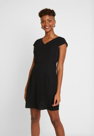 VMMILA CAPSLEEVE SHORT DRESS - Korte jurk - black