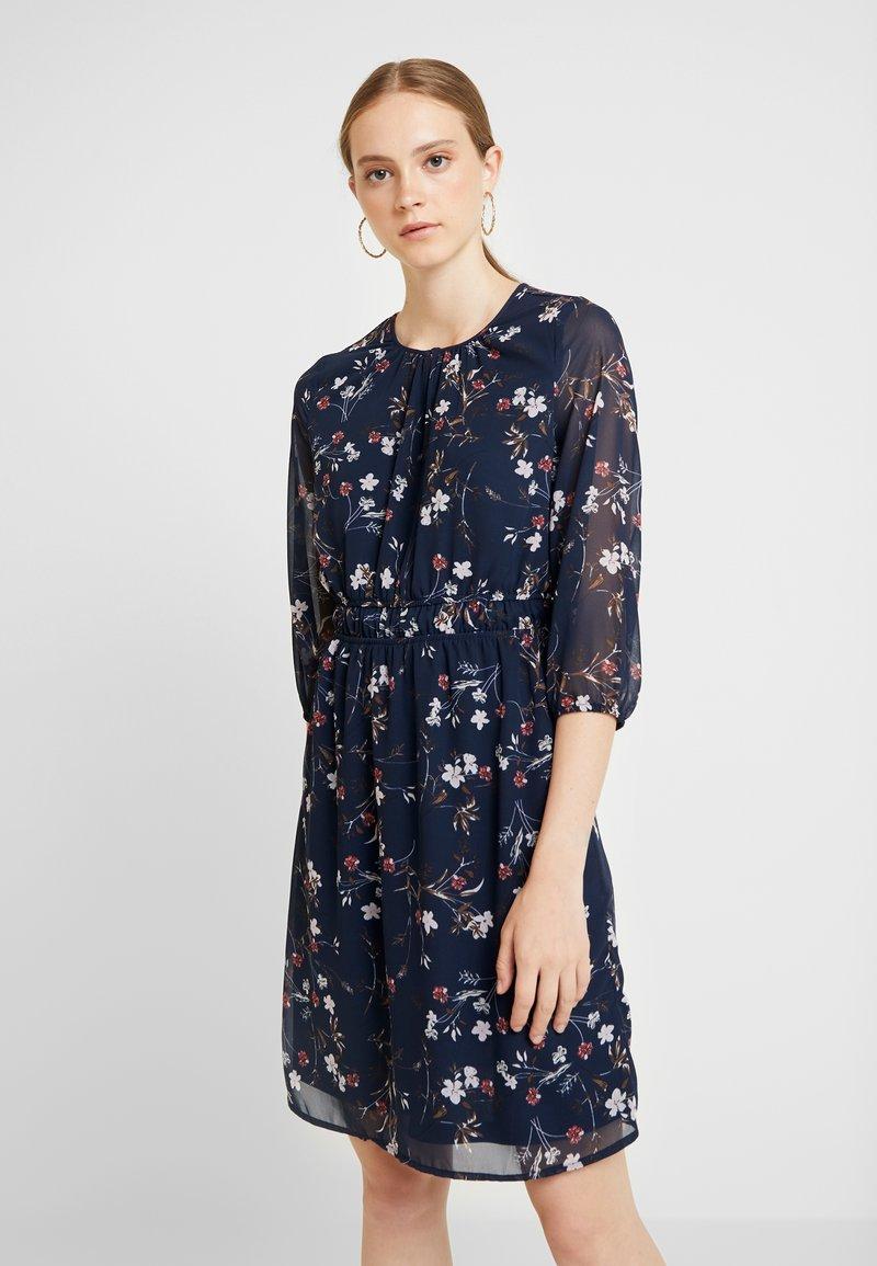 Vero Moda - VMNIKKI DRESS - Day dress - navy blazer