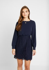Vero Moda - VMELLIE SHORT DRESS - Juhlamekko - night sky - 0