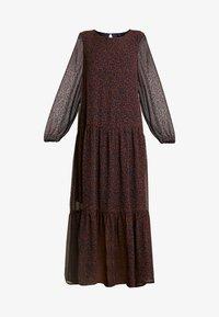 Vero Moda - VMROBERTA ANCLE DRESS - Maxi šaty - night sky/tortoise - 6