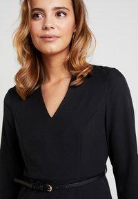 Vero Moda - VMERIN PINCEL DRESS - Day dress - black - 6