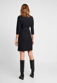 Vero Moda - VMERIN PINCEL DRESS - Day dress - black - 3