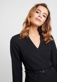 Vero Moda - VMERIN PINCEL DRESS - Day dress - black - 4