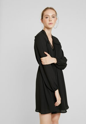 VMALLINA SHORT DRESS - Denní šaty - black