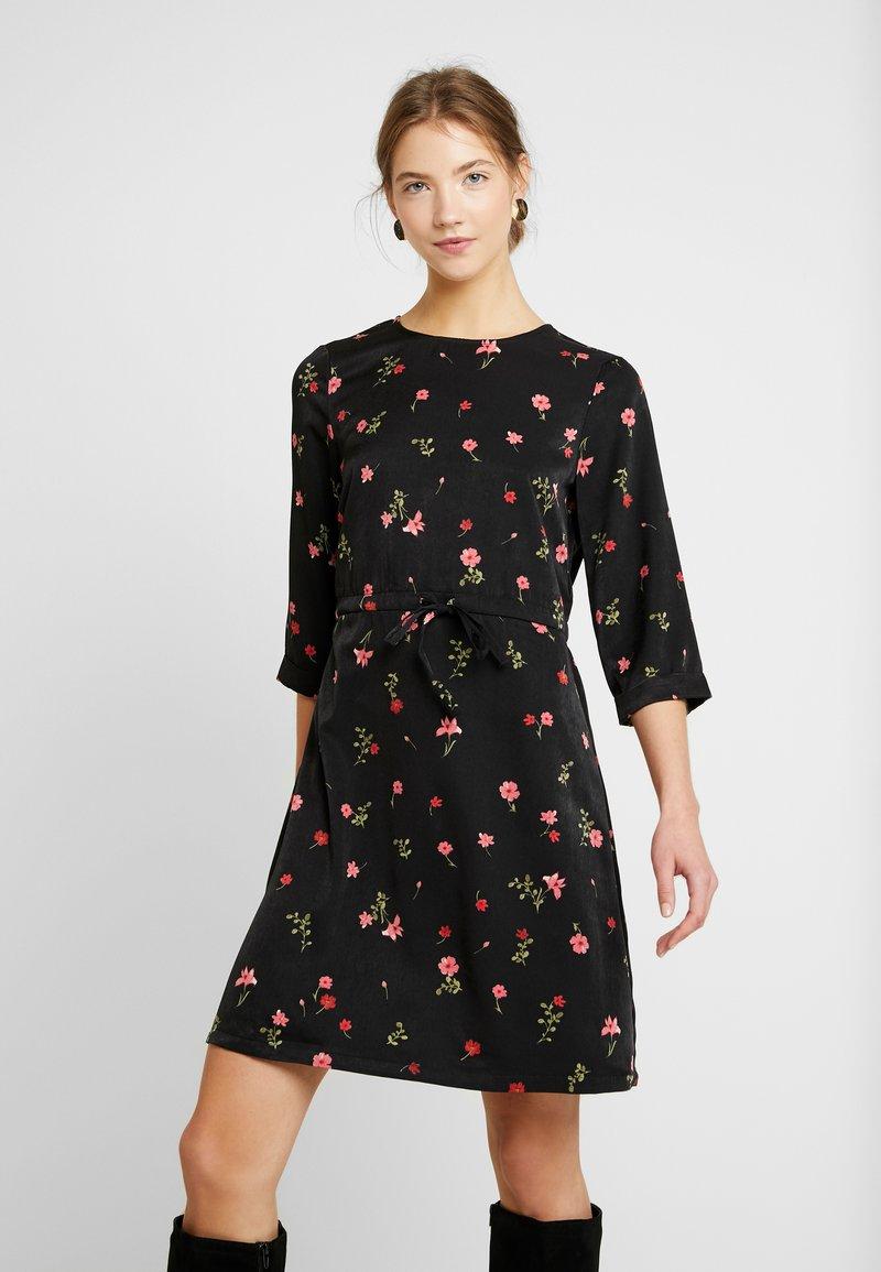 Vero Moda - VMBOLETTE SHORT DRESS - Vestito estivo - black/bolette