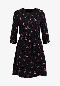 Vero Moda - VMBOLETTE SHORT DRESS - Vestito estivo - black/bolette - 6