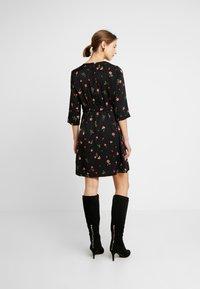 Vero Moda - VMBOLETTE SHORT DRESS - Vestito estivo - black/bolette - 3