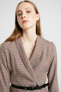 Vero Moda - VMALICIA SHORT DRESS - Day dress - tobacco brown - 4