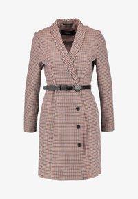 Vero Moda - VMALICIA SHORT DRESS - Day dress - tobacco brown - 5