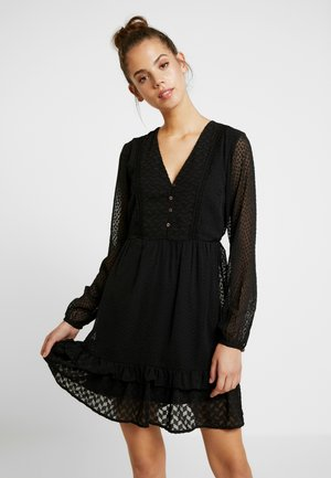 VMABIGAIL SHORT DRESS - Robe d'été - black