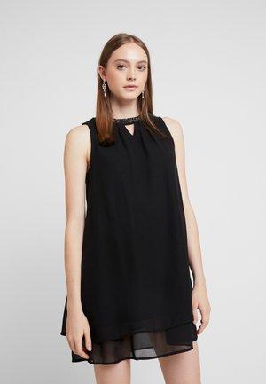 VMELINA BEAD DRESS - Day dress - black