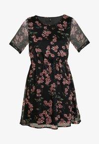Vero Moda - VMMALLIE BELT SHORT DRESS - Denní šaty - black/mallie - 5