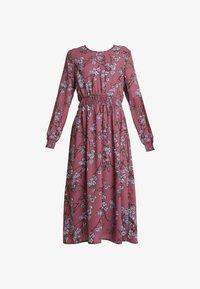 Vero Moda - VMMALLIE SMOCK DRESS - Vapaa-ajan mekko - hawthorn rose - 5