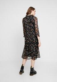 Vero Moda - VMTINI CALF DRESS - Maxi šaty - black - 3