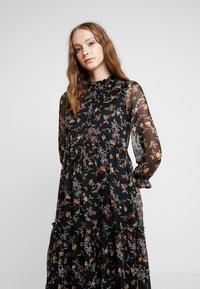 Vero Moda - VMTINI CALF DRESS - Maxi šaty - black - 5