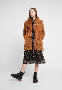 Vero Moda - VMTINI CALF DRESS - Maxi šaty - black - 2