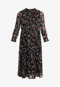 Vero Moda - VMTINI CALF DRESS - Maxi šaty - black - 4