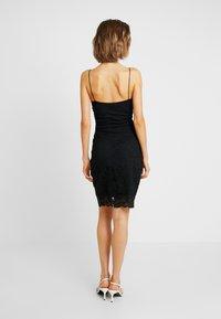 Vero Moda - VMFLORENCE SINGLET DRESS - Korte jurk - black - 3