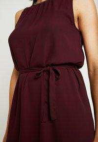 Vero Moda - VMDORTHEA SHORT DRESS - Denní šaty - winetasting - 6