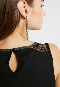 Vero Moda - VMDORTHEA SHORT DRESS - Denní šaty - black - 6