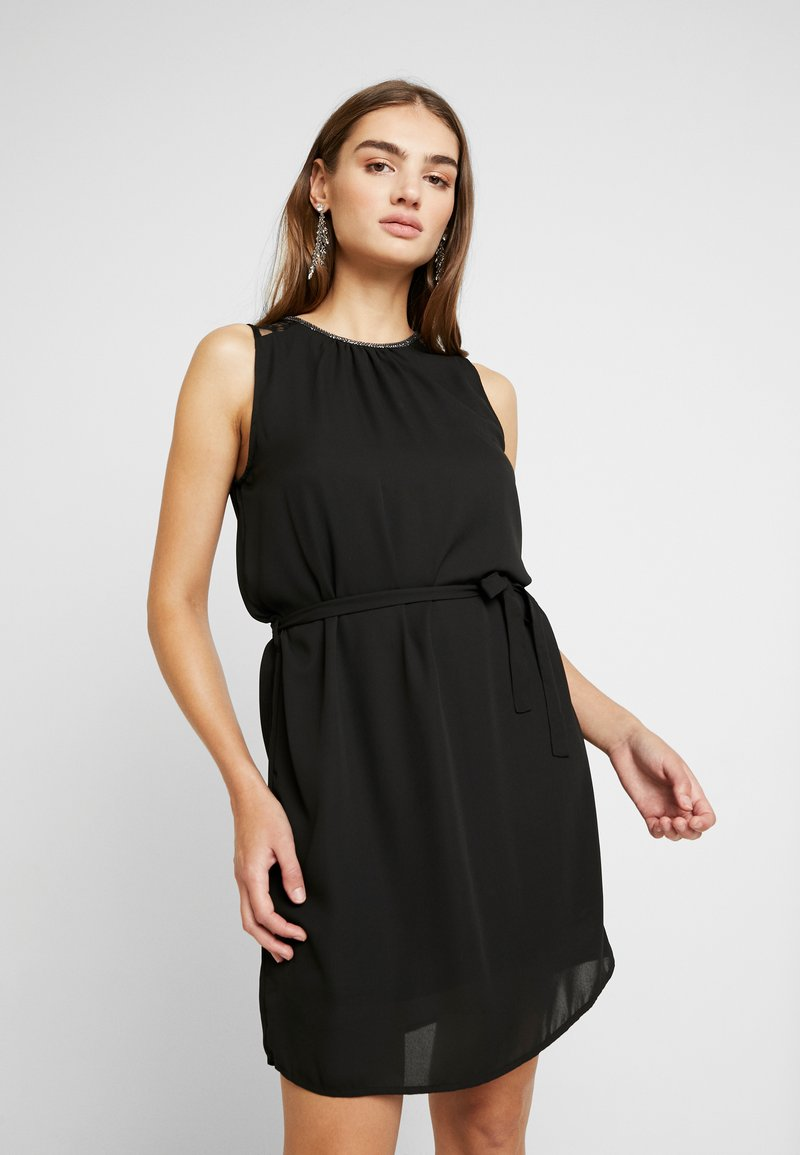 Vero Moda - VMDORTHEA SHORT DRESS - Denní šaty - black